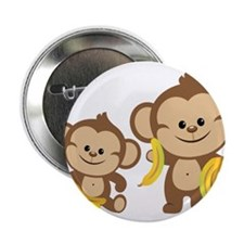 "Little Monkeys 2.25"" Button (100 pack)"