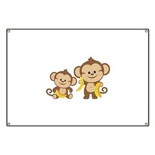 Little Monkeys Banner