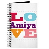 I Love Amiya Journal