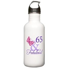 65 And Fabulous Sports Water Bottle