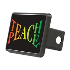 Teach Peace Hitch Cover