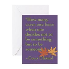 Coco Chanel Quote Cards (Pk of 10)