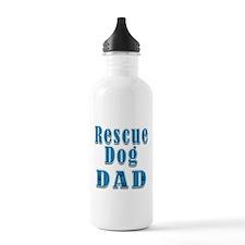 Rescue Dog Dad Water Bottle