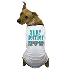 Silky Terrier Mom Hearts Dog T-Shirt