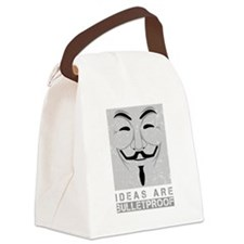 Ideas are bulletproof Canvas Lunch Bag