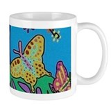 Butterfly Gathering Tree Of Life Small Mugs
