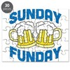 Sunday Funday Drinking Shirt Puzzle