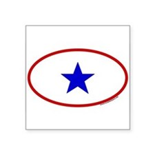 Service Member Oval Sticker (One Family Member) St