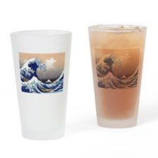 The Great Wave off Kanagawa Drinking Glass