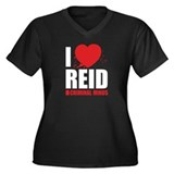 I Love Reid - Criminal Minds Women's Plus Size V-N