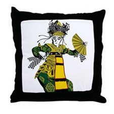 Balinese dancer T-shirt Throw Pillow