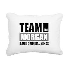 Team Morgan Rectangular Canvas Pillow