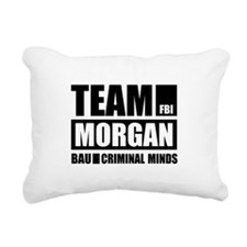 Team Morgan Rectangular Canvas Pillow