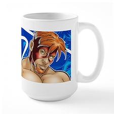 """Naked Justice """"Portrait"""" Mug"""