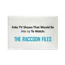 Fake TV Shows Series: THE RACCOON FILES Rectangle