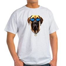 GREAT DANE DAKINE DOG! Ash Grey T-Shirt T-Shirt