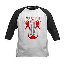 Viking World Tour Funny Norse T-Shirt Tee