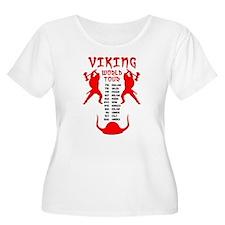 Viking World Tour Funny Norse T-Shirt T-Shirt