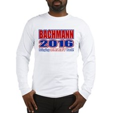 Bachmann President 2016 Crazy Back Long Sleeve T-S