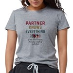Dig the Hole - Daughter Dating Womens Burnout Tee