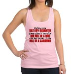 Dig the Hole - Daughter Dating Racerback Tank Top