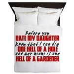 Dig the Hole - Daughter Dating Queen Duvet