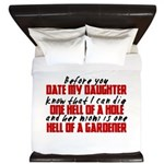 Dig the Hole - Daughter Dating King Duvet