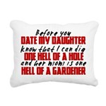 Dig the Hole - Daughter Dating Rectangular Canvas