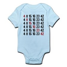Lost Numbers Square Infant Bodysuit