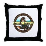 Orange Ranger Reserve Throw Pillow