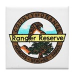 Orange Ranger Reserve Tile Coaster