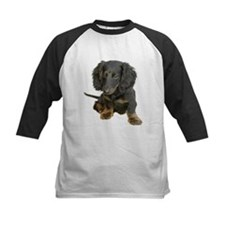 Black brindle Dachshund doxie Tee