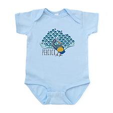 Peacock Infant Bodysuit