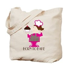 Born Cupcake Baker Tote Bag