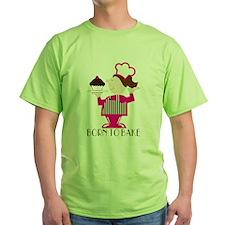 Born Cupcake Baker T-Shirt