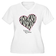 Zebra Fashion Passion T-Shirt