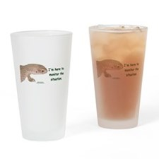 Funny Herpetology Drinking Glass
