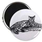 "Cute Savannah kitten 2.25"" Magnet (10 pack)"