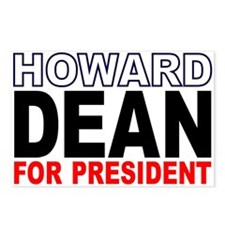 Howard Dean Postcards (Package of 8)