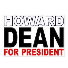 Howard Dean Postcards (Package of 8)