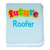 Future Roofer baby blanket