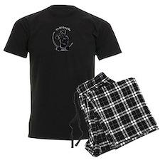 Black Schnauzer IAAM Logo Pajamas