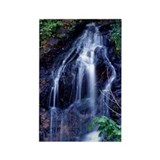 Bridal Veil Falls Rectangle Magnet