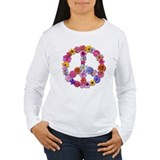 FloralPeaceK Long Sleeve T-Shirt