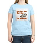 You Bet Your Burrito I'm Mexican! Women's Pink T-S