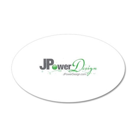 JPowerDesign 20x12 Oval Wall Decal