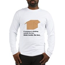 Think Inside the Box Long Sleeve T-Shirt