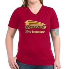 Awesome Swimmer gift Shirt
