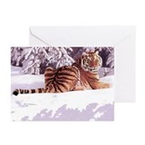 Siberian Snow Christmas Cards Pk of 10