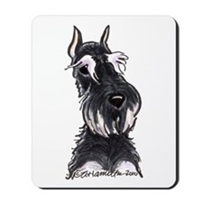 Bk Silver Schanzuer Head Up Mousepad
